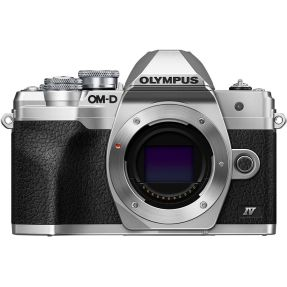OLYMPUS OMD E-M10 MARK IV BODY ZILVER