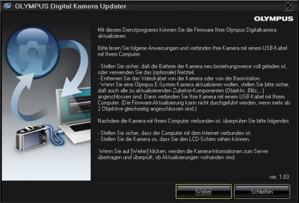 Olympus OM-D Firmware OK