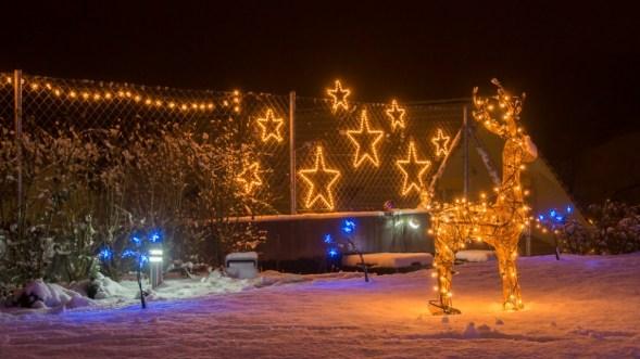 Weihnachtsbeleuchtung 2007 - 2013