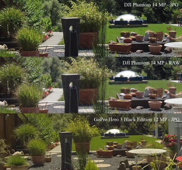 DJI - GoPro Vergleich
