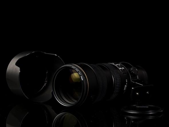 AF-S Nikkor 70-200mm 1:2.8 G ED VR / 77mm