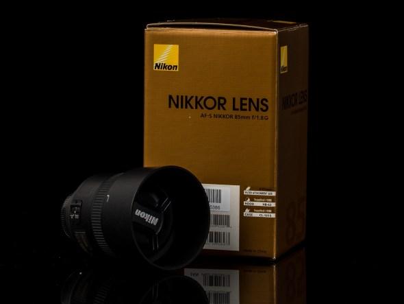 AF-S Nikkor 85mm 1:1.8 G / 67mm