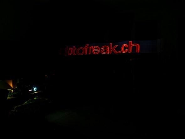 Lightpainting mit Holographium App