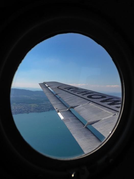 Unterwegs mit der Ju-52 (Tante Ju)