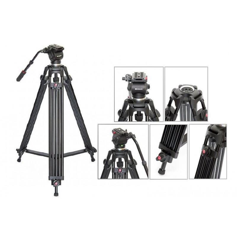 Braun Stativ Professional Video PVT 185 inkl. Tasche