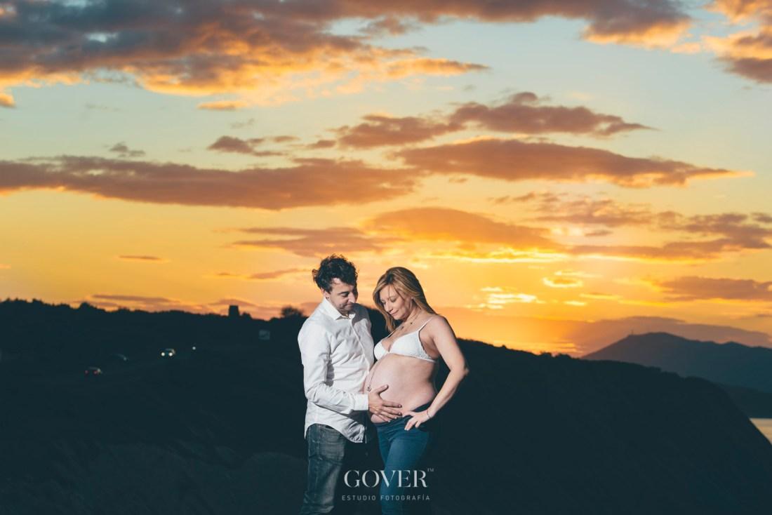Fotografía de premamás - Estudio Gover