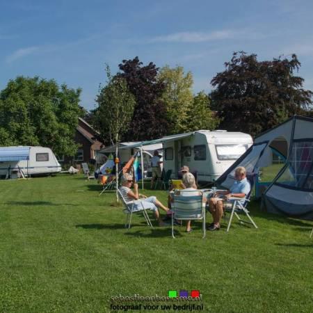 Camping foto voor website
