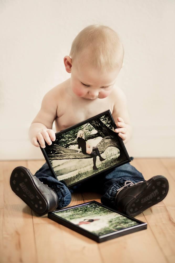 Foto serie af mor og barn  Fotograf Viborg