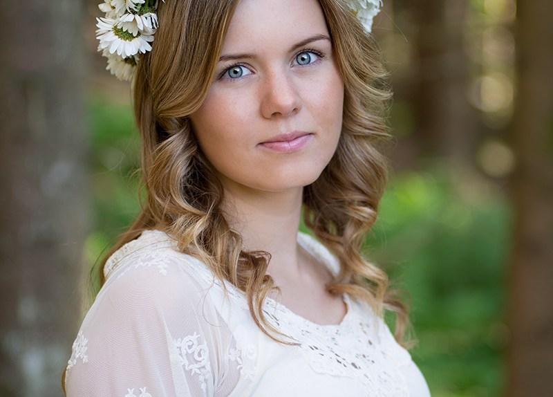 Portrettfoto av Eirin i Åseral-3