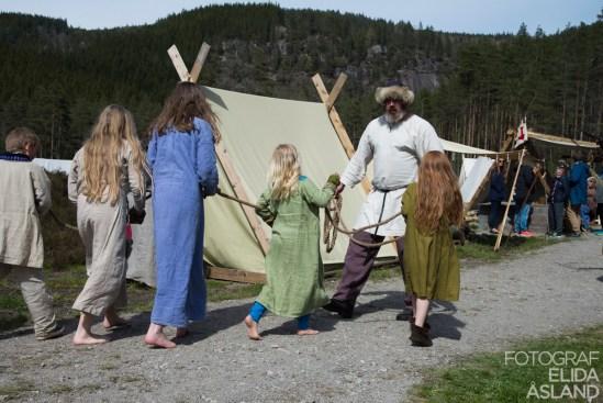 Vikingting på tingvatn 2015