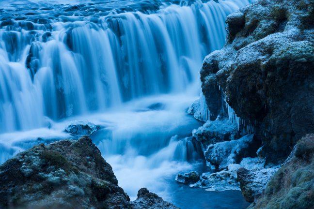 watervallen in IJsland