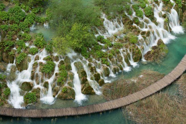 watervallen met lange sluitertijd