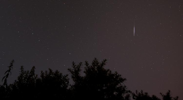 Perseïden: een zwerm van meteoren (vallende sterren)