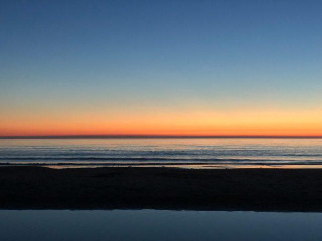 Schatzoeken: zonsondergang