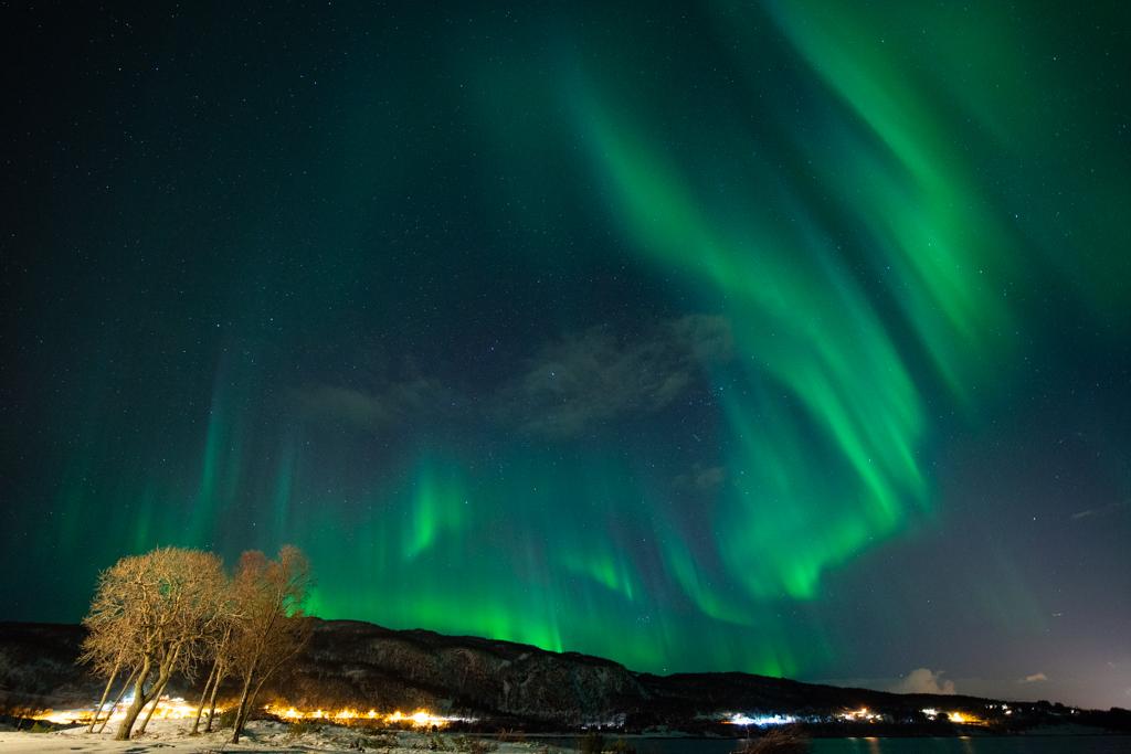 rust en flow tijdens fotograferen van noorderlicht