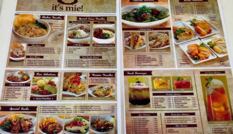 its mie temp menu