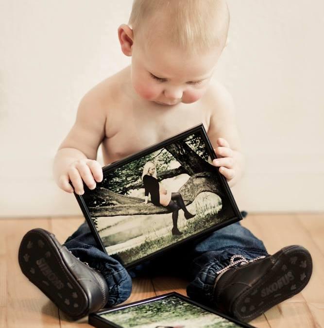 Fotografering af baby og mor