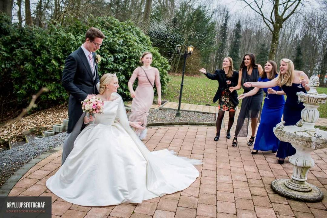 Brudekjole Fredericia