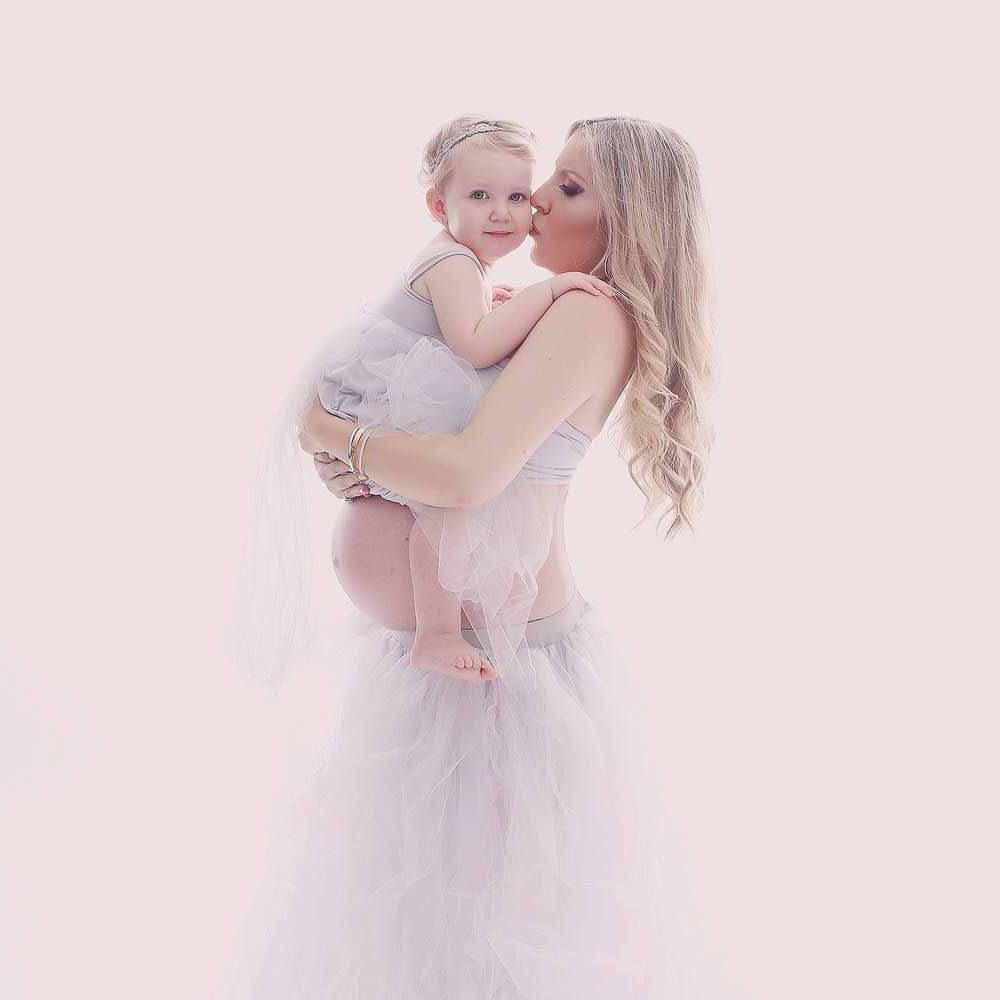 kjole til gravid fotografering Vejle