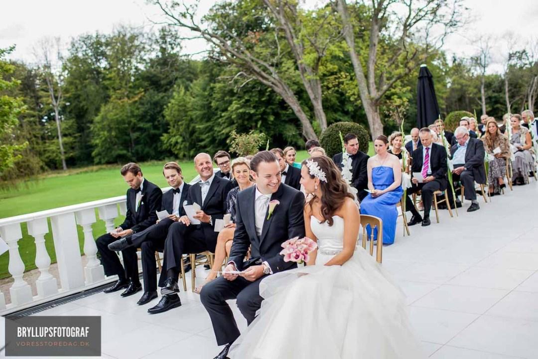 forberedelse, vielse, reception, fest, brudevals Herning