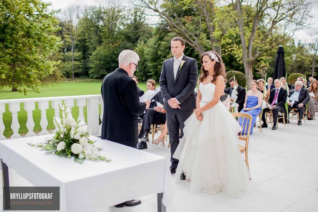 klassiske bryllupsportrætter Herning