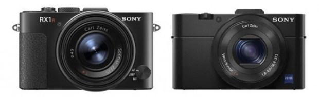 Sony RX1R e Sony RX100 Mark II
