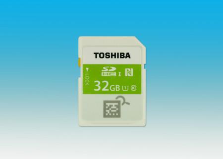 cartão Toshiba NFC