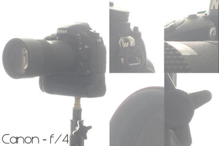 Aberração cromática na Canon