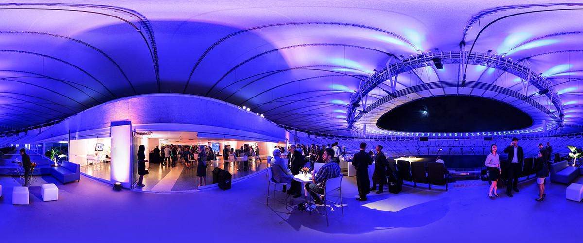 fotografia 360 evento maracana
