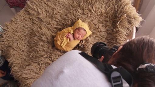 tutorial envoltorio newborn