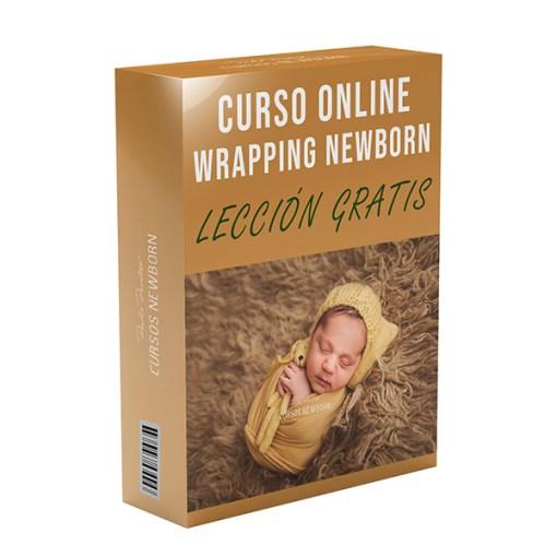 tecnica wrapping newborn lección gratis