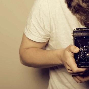Fotografía de cámara vintage