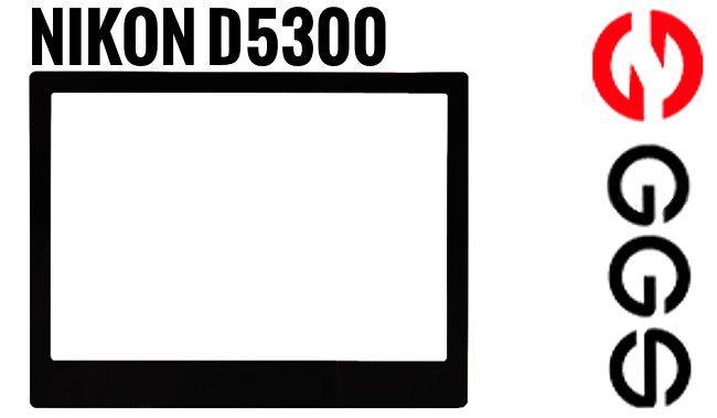 Osłona LCD GGS LARMOR szklana Nikon D5300, D5500