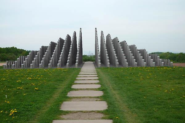 Stangenpyramide  fotografie fenchel