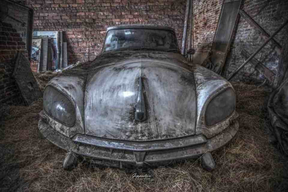 Fotografie-tips - Urbex oude auto