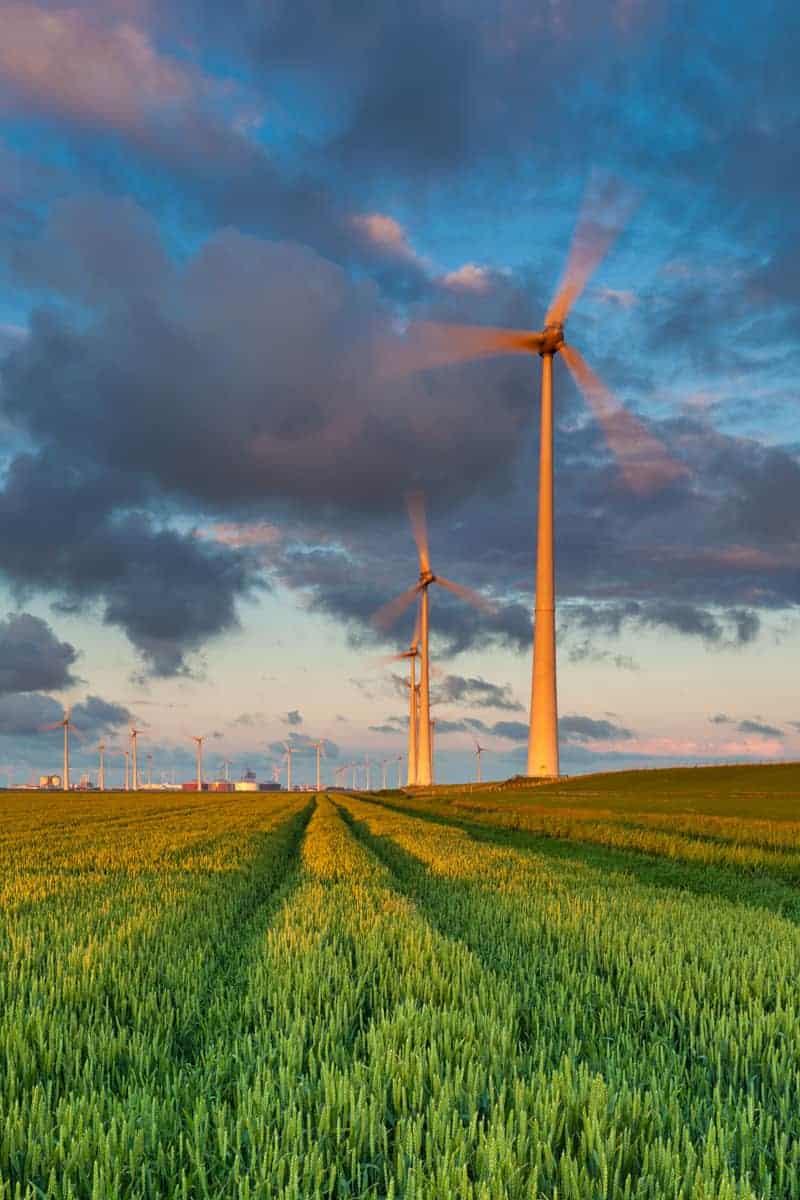 Windturbines Fotografiereis Groninger Waddenkust