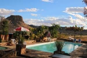 Fotoreis Madagaskar hotel Isalo ranch