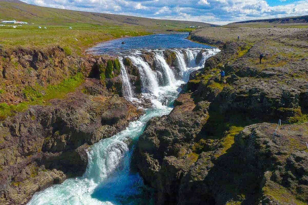 Fotoreis Noord IJsland Kolufossar