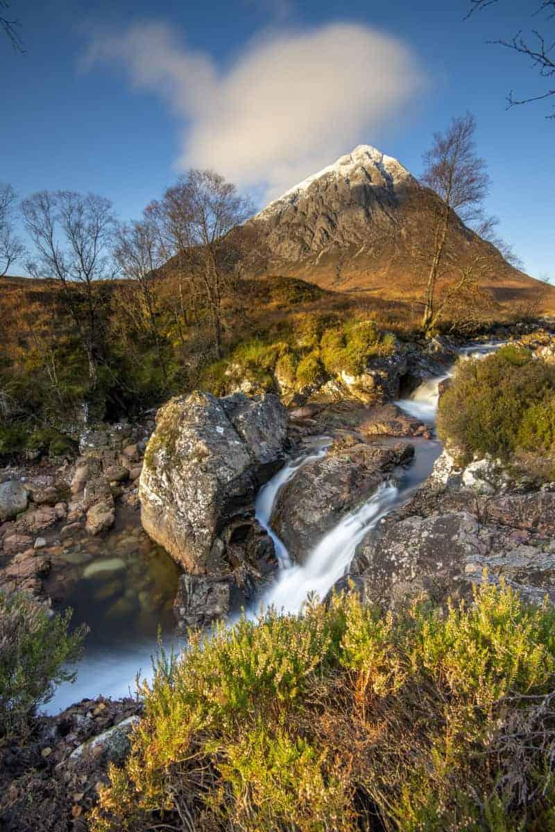 Fotoreis Schotland Buachaille Etive Mor bij zonsopkomst