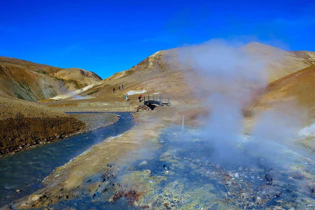 Fotoreis hooglanden IJsland gaat dwars door de hooglanden Kerlingarfjoll