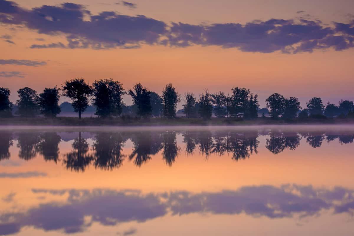 Paarse luchten tijdens het Fotoweekend Brabant