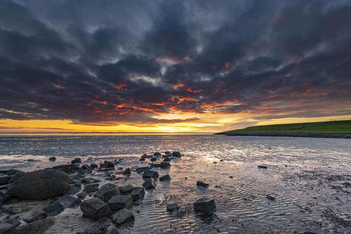 Fotoweekend Groninger Waddenkust zonsopkomst bij Hoogwatum Bierum