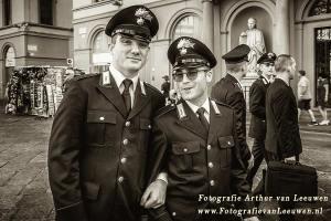 Politie in Pisa