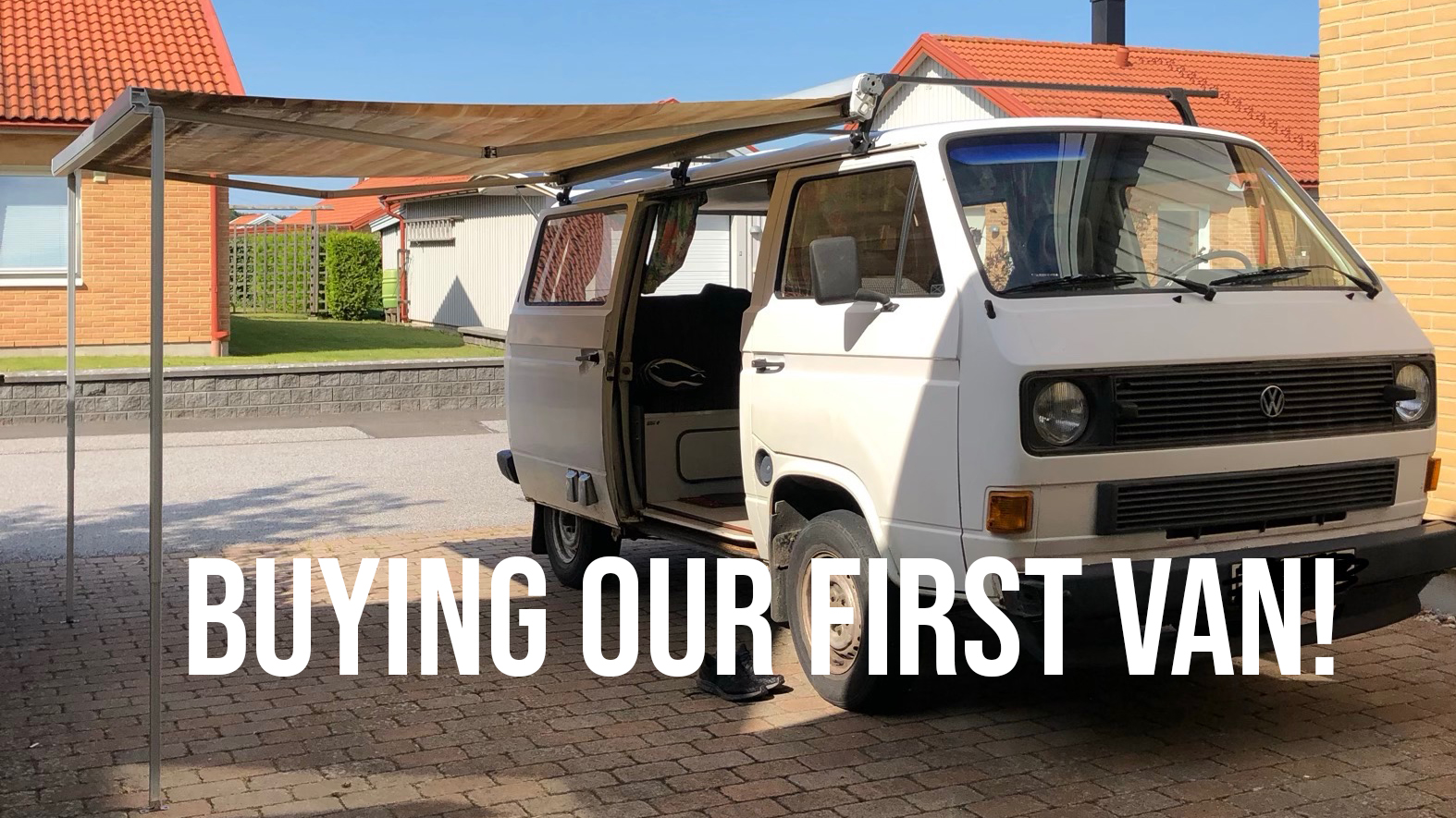 New video; We bought us a VAN!