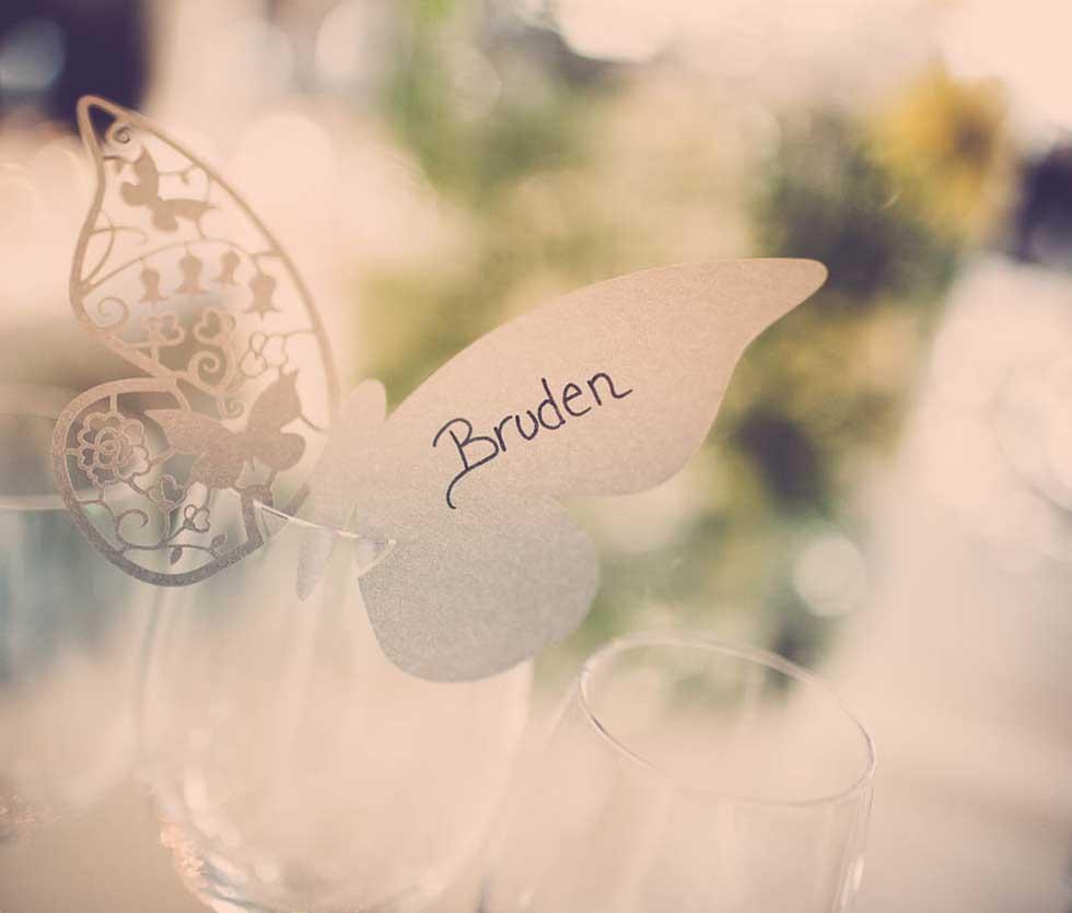 bordkort bryllup Odense