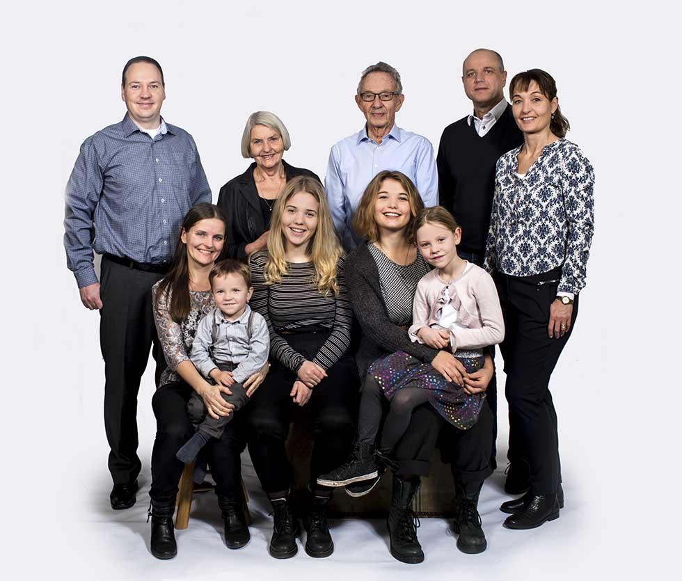 gruppefoto familie Odense