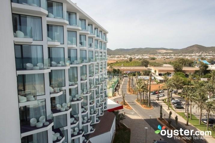 Balcones en el Hard Rock Iibiza Hotel