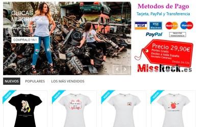 MissRock, camisetas personalizadas