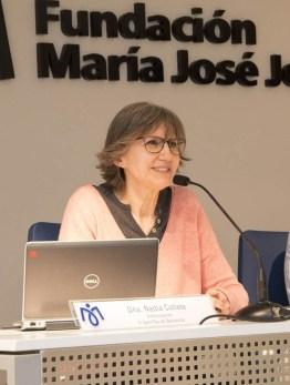 Nadia Collette Birnbaum, Arteterapeuta en la U. Paliativos del H. Sant Pau de Barcelona.