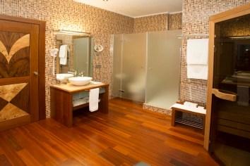 Baño Hotel en Suite
